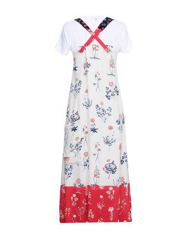 DONDUP Midi-Kleid Günstige Online 2018 Unisex Günstig Kaufen Ausgezeichnet jf0IPIR