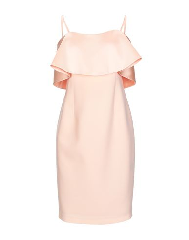 FOREVER UNIQUE Short Dress in Apricot
