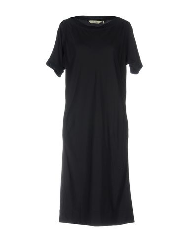 AND LESS Knielanges Kleid
