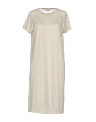 ANNAPURNA Knee-Length Dress in Light Grey