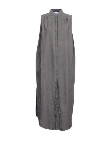 PRIMORDIAL IS PRIMITIVE Midi Dress in Lead