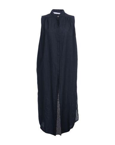 PRIMORDIAL IS PRIMITIVE Midi Dress in Dark Blue
