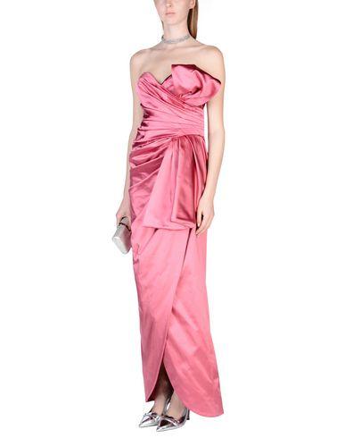 Billig Neueste Günstig Kaufen Bilder MOSCHINO Langes Kleid Grau-Outlet-Store Online Zum Verkauf Günstigen Preis Aus Deutschland Tt0mQdz