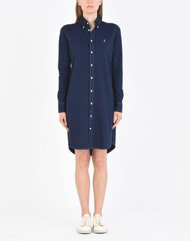 POLO RALPH LAUREN Knit Oxford Dress Modelo camisero