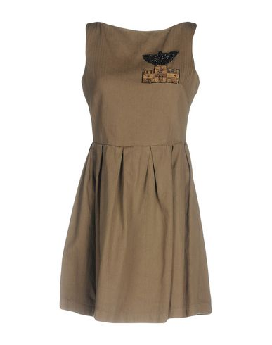 L'EDITION Short Dress in Khaki
