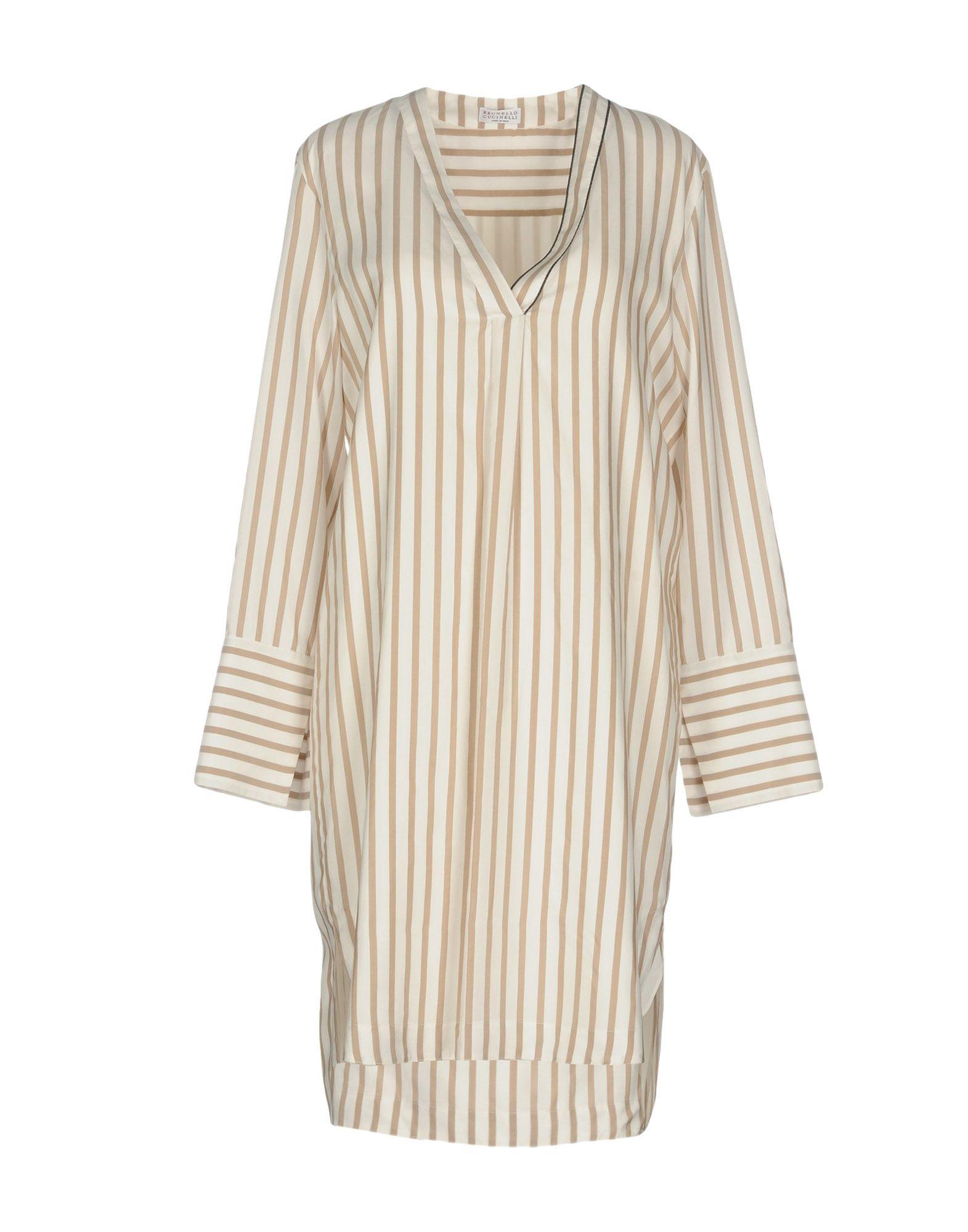 Vestito Corto Brunello Cucinelli Donna - Acquista online su AAHf57qC