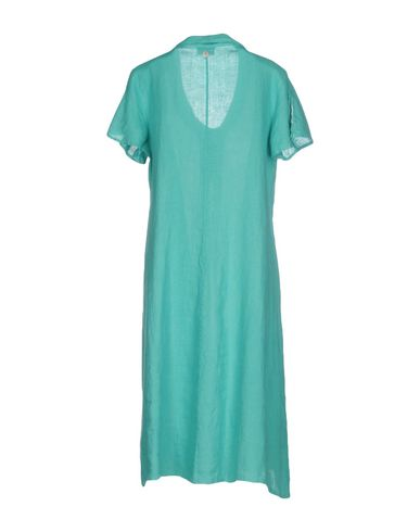 Offizielle Seite Günstig Online LA FABBRICA del LINO Knielanges Kleid Billig Original Neuester Rabatt Marktfähig RqtqKcrL