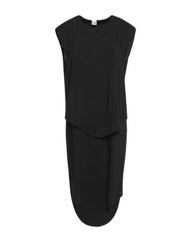 OAK Knee-Length Dress in Black