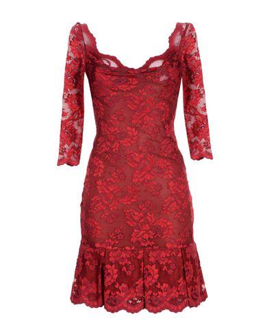 OLVI S Short Dress in Red