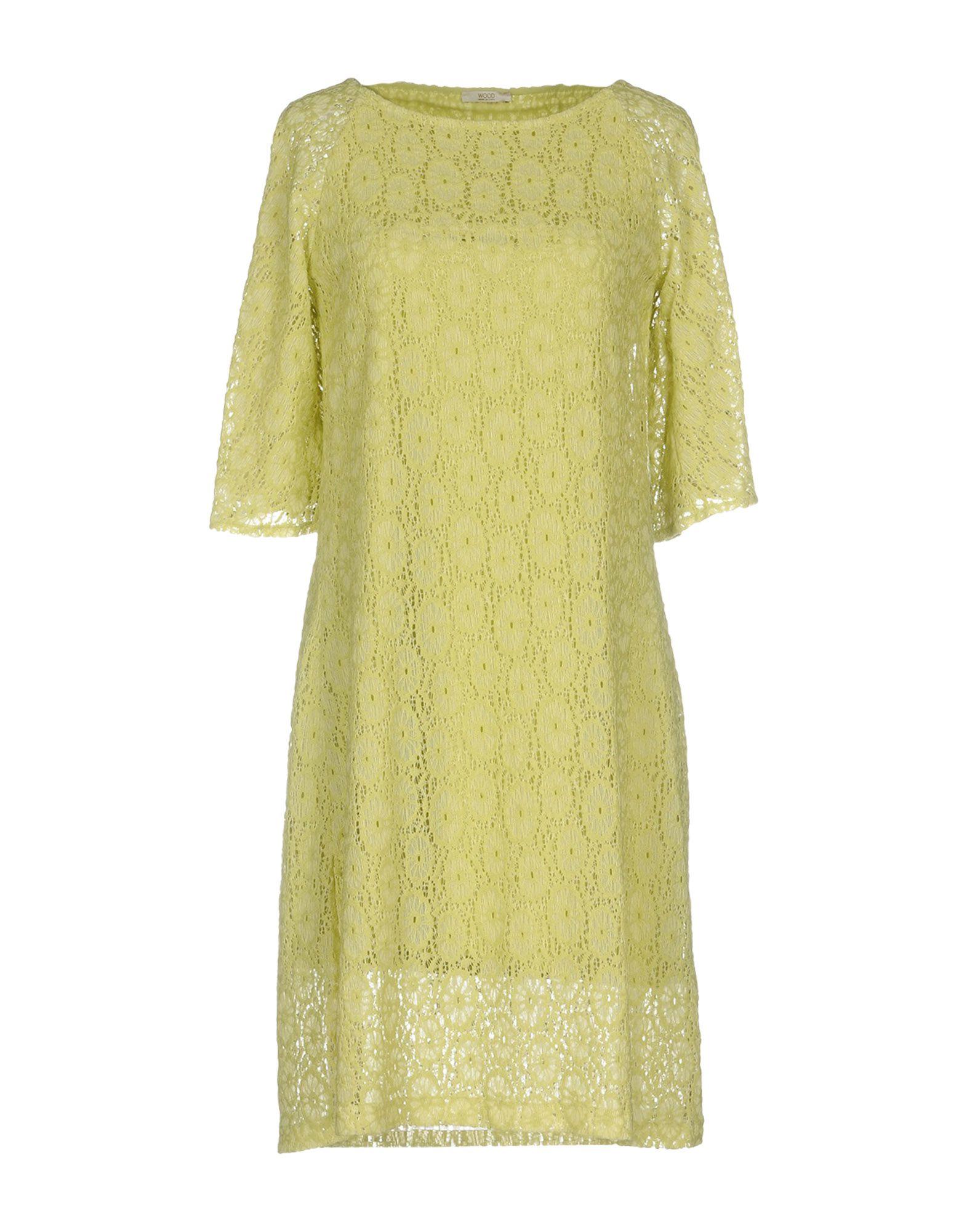 Vestito Vestito Corto Wood donna - 34821427NN  60% Rabatt sparen