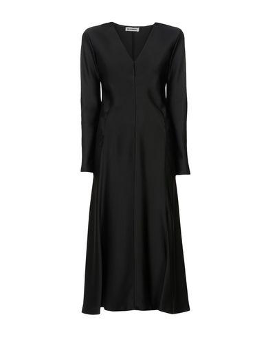 JIL SANDER Langes Kleid