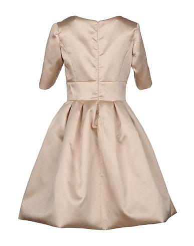 IO COUTURE Knielanges Kleid Verkauf Wahl Rabatt Finishline fLKc1HnfB