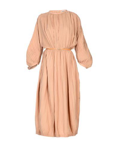 JIL SANDER Langes Kleid Niedrig Kosten Für Verkauf Modestil Rabatt Limitierte Auflage LmTg0ijm