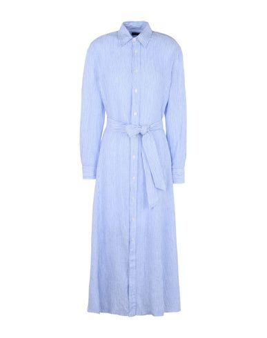 8b80ad0c655 Polo Ralph Lauren Striped Linen Shirtdress - Long Dress - Women Polo ...