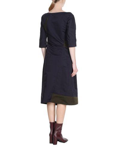 Wo Findet Man Freies Verschiffen Manchester JIL SANDER Knielanges Kleid Offizielle Günstig Online W16pyRy