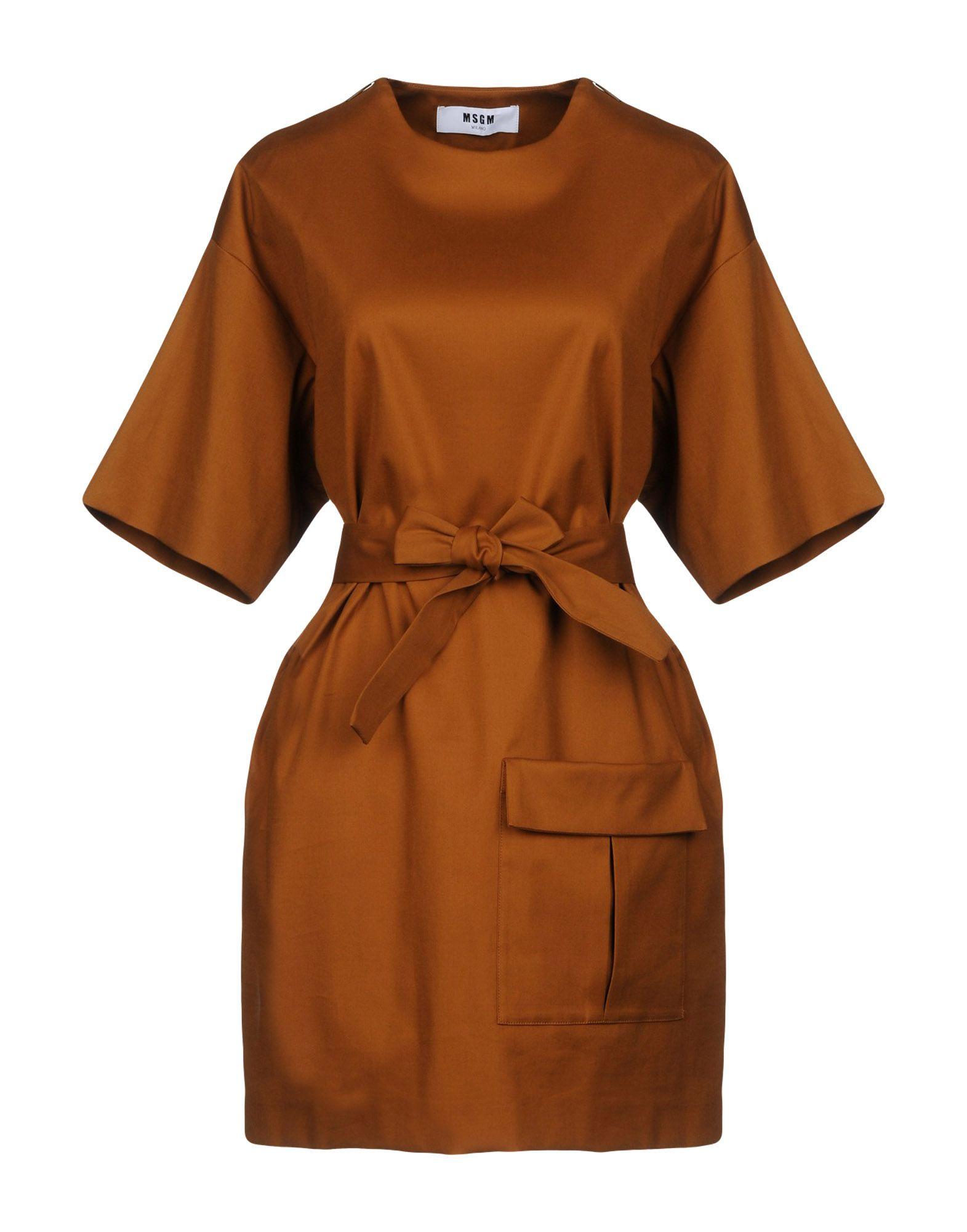 Vestito Corto Msgm Donna - Acquista online su Fduoz