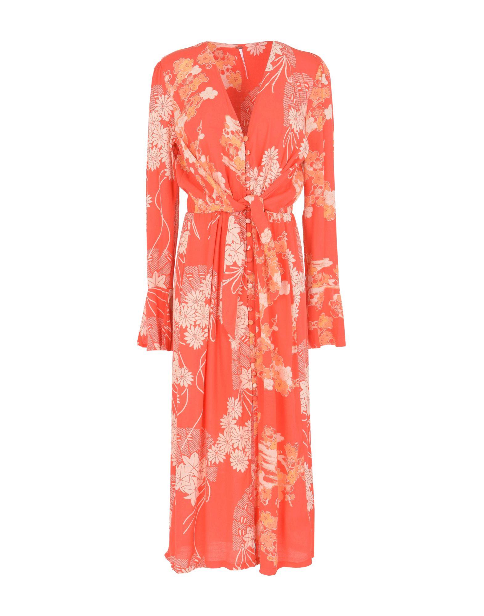 various styles classic high fashion FREE PEOPLE 3/4 length dress - Dresses | YOOX.COM