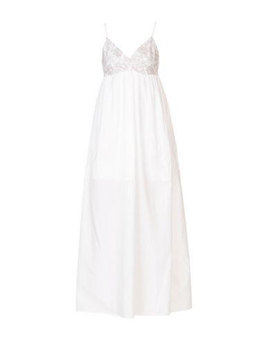 Stefanel Stefanel Longue Stefanel Robe Longue Robe Blanc Blanc S5xRqP