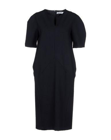 JIL SANDER Knielanges Kleid Zuverlässig günstig online Günstigen Preis Großhandelspreis Steckdose Footlocker Preiswerte Real 2018 Unisex Online cdu1X1H