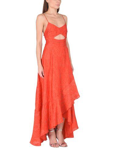 FREE PEOPLE BUONA SERA MAXI Langes Kleid Orange 100% Original Billig Zuverlässig Rabatt Billig Limited Edition Günstiger Preis oKX6mff
