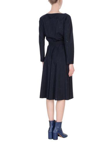 JIL SANDER NAVY Knielanges Kleid