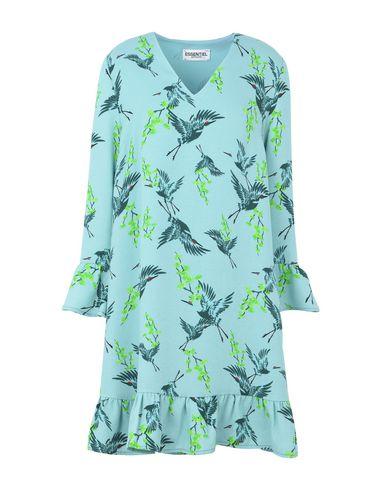 ESSENTIEL ANTWERP Pondicon long sleeved dress Minivestido