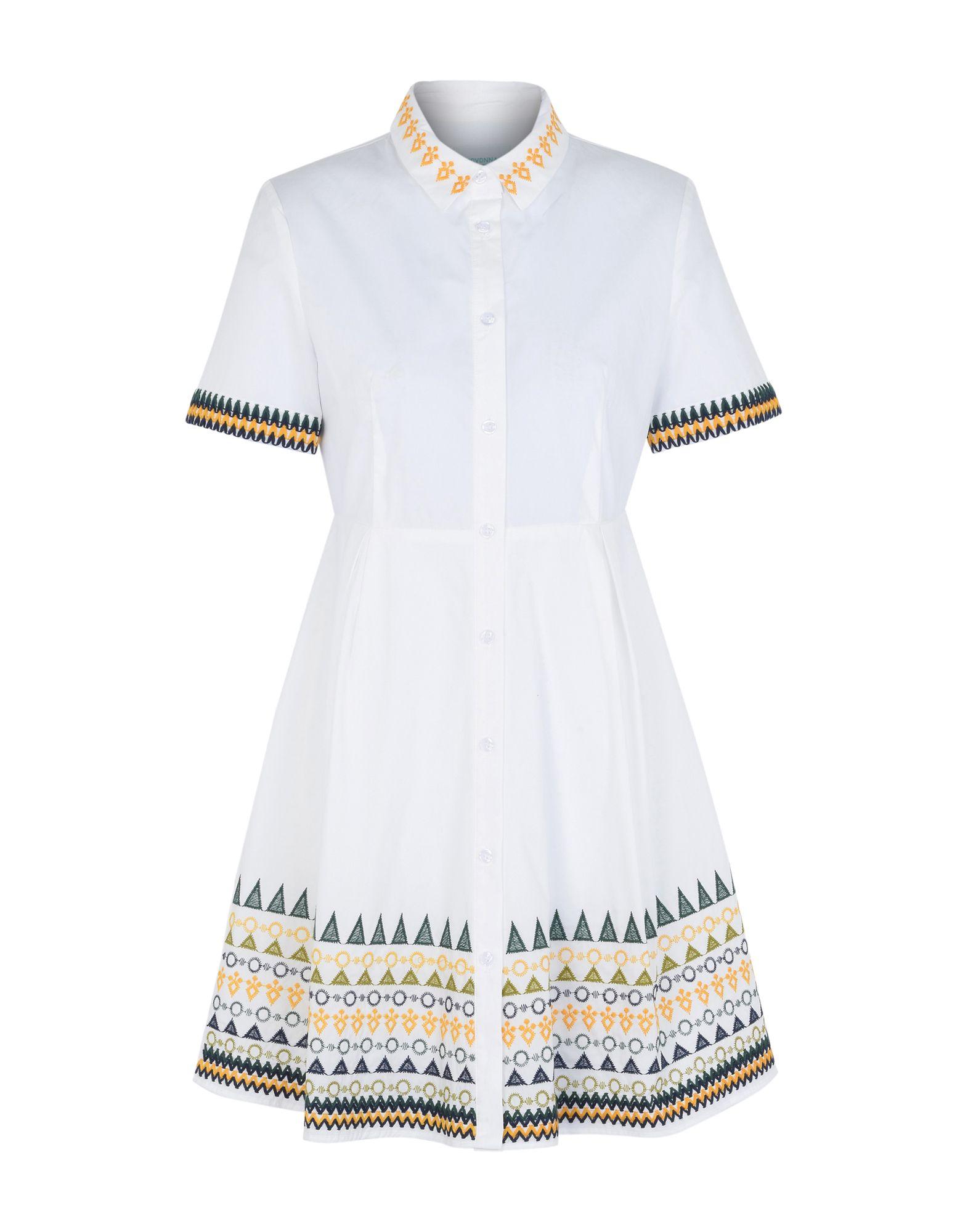 Vestito Chemisier Jovonna Guipure Embroidery Dress - Donna - Acquista online su