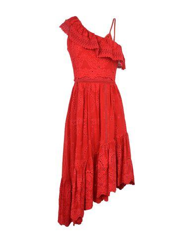 9bdb3f6e185 The Kooples Asymmetrical Cotton Dress With Fancywork Details - Midi ...