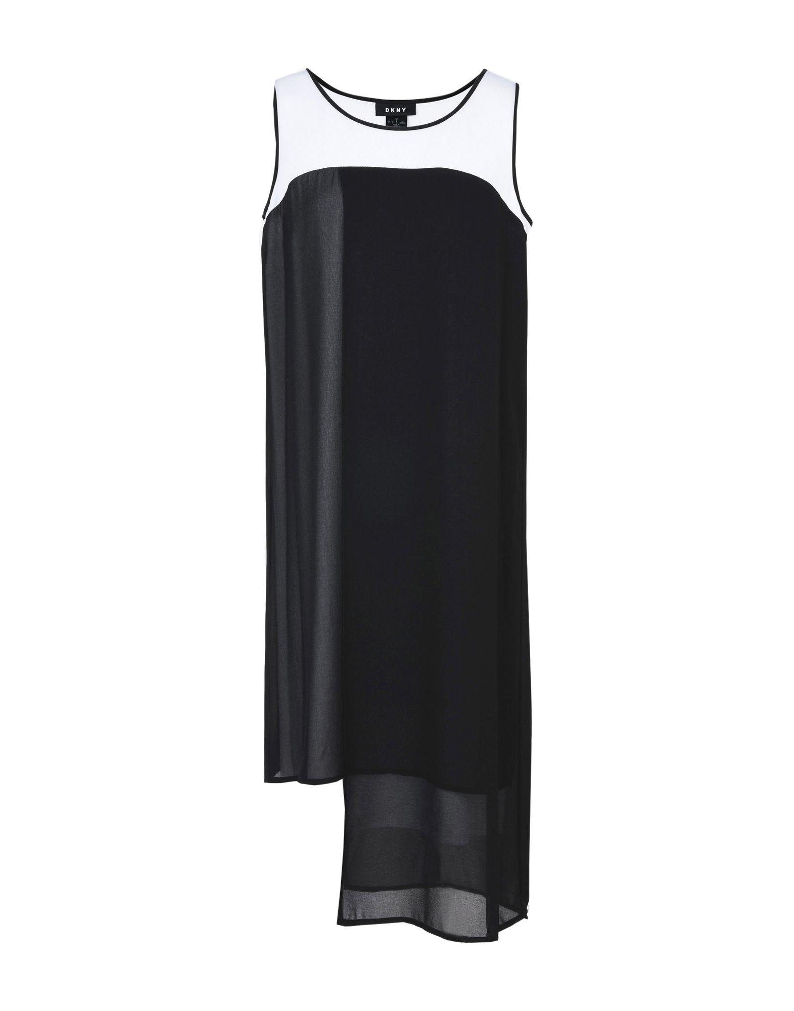 Vestito Al Ginocchio Dkny Slvls Crew Neck Asym Hem Dress - Donna - Acquista online su ZinQe