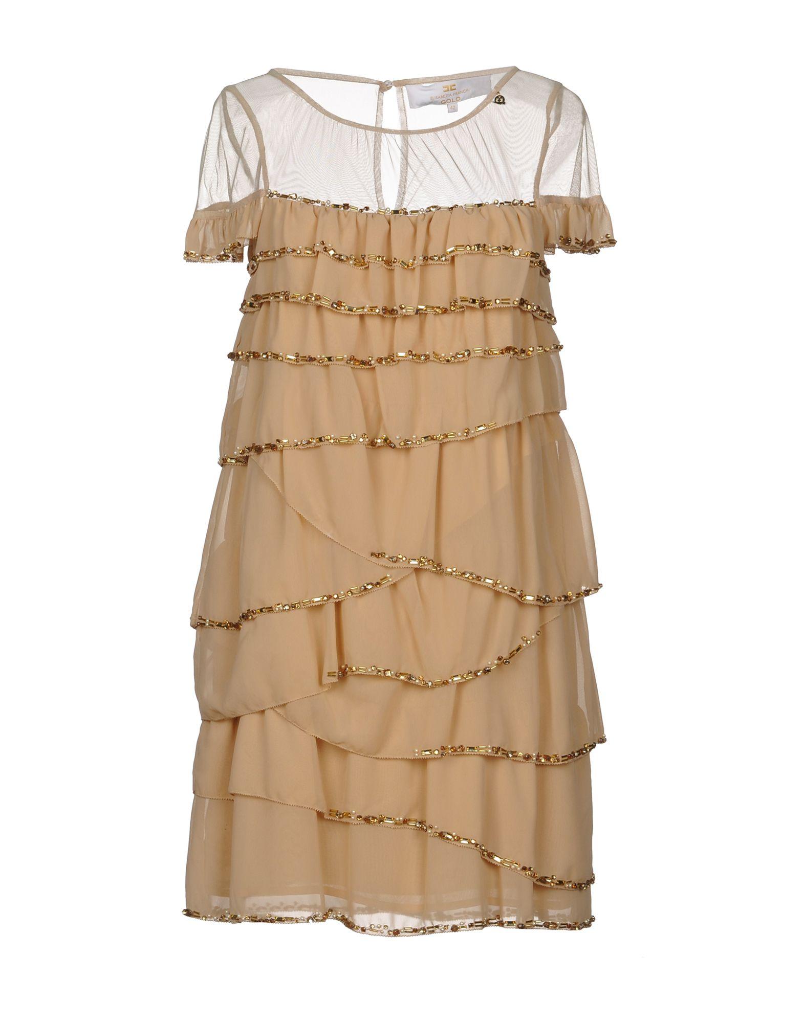 Vestito Corto Elisabetta Franchi Gold Donna - Acquista online su LjuYByKfY