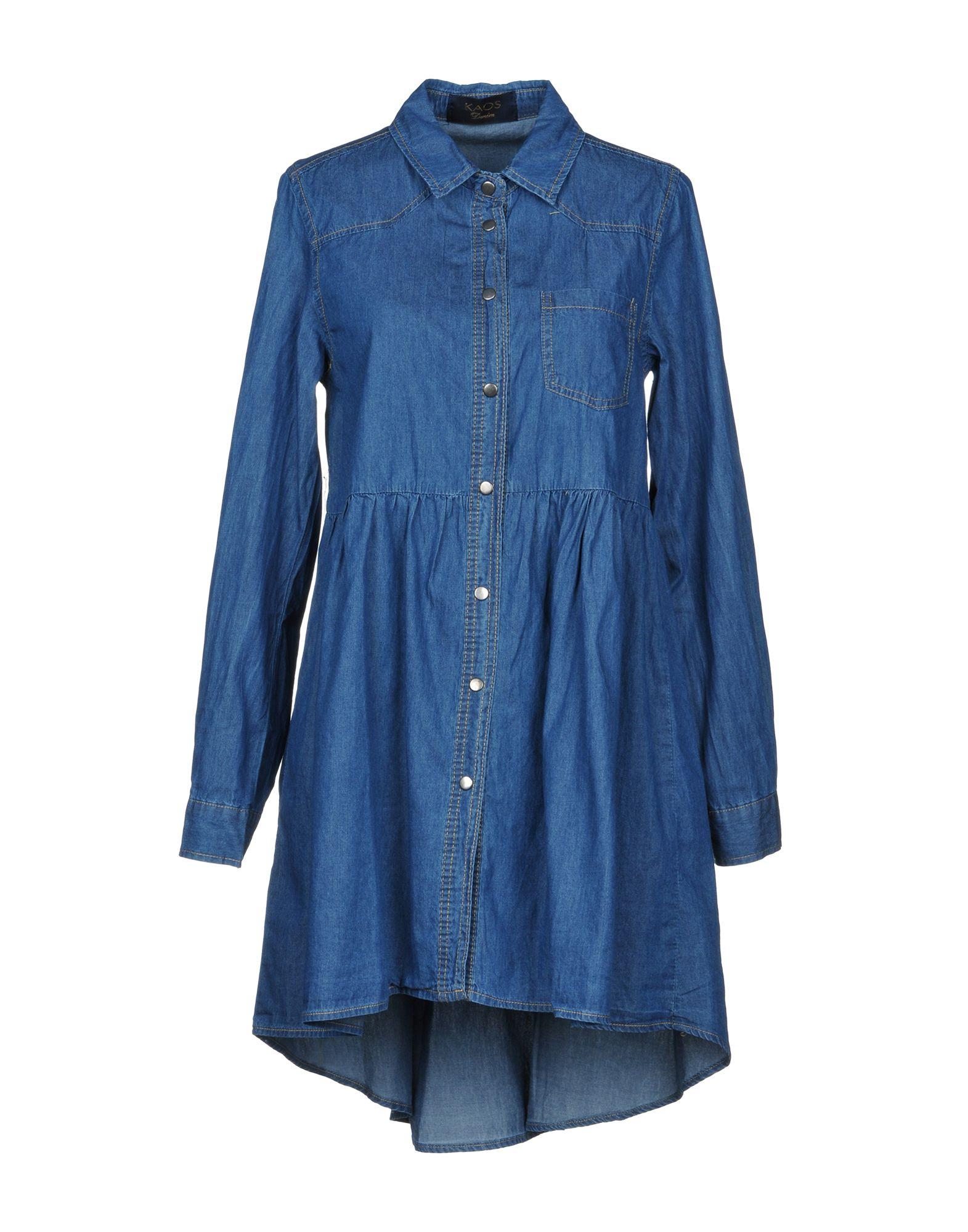 Vestito Chemisier Kaos Jeans Donna - Acquista online su