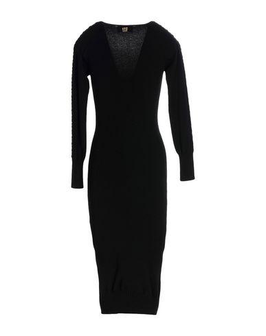Collection Aux Noir Vdp Genoux Robe 6UnPx7