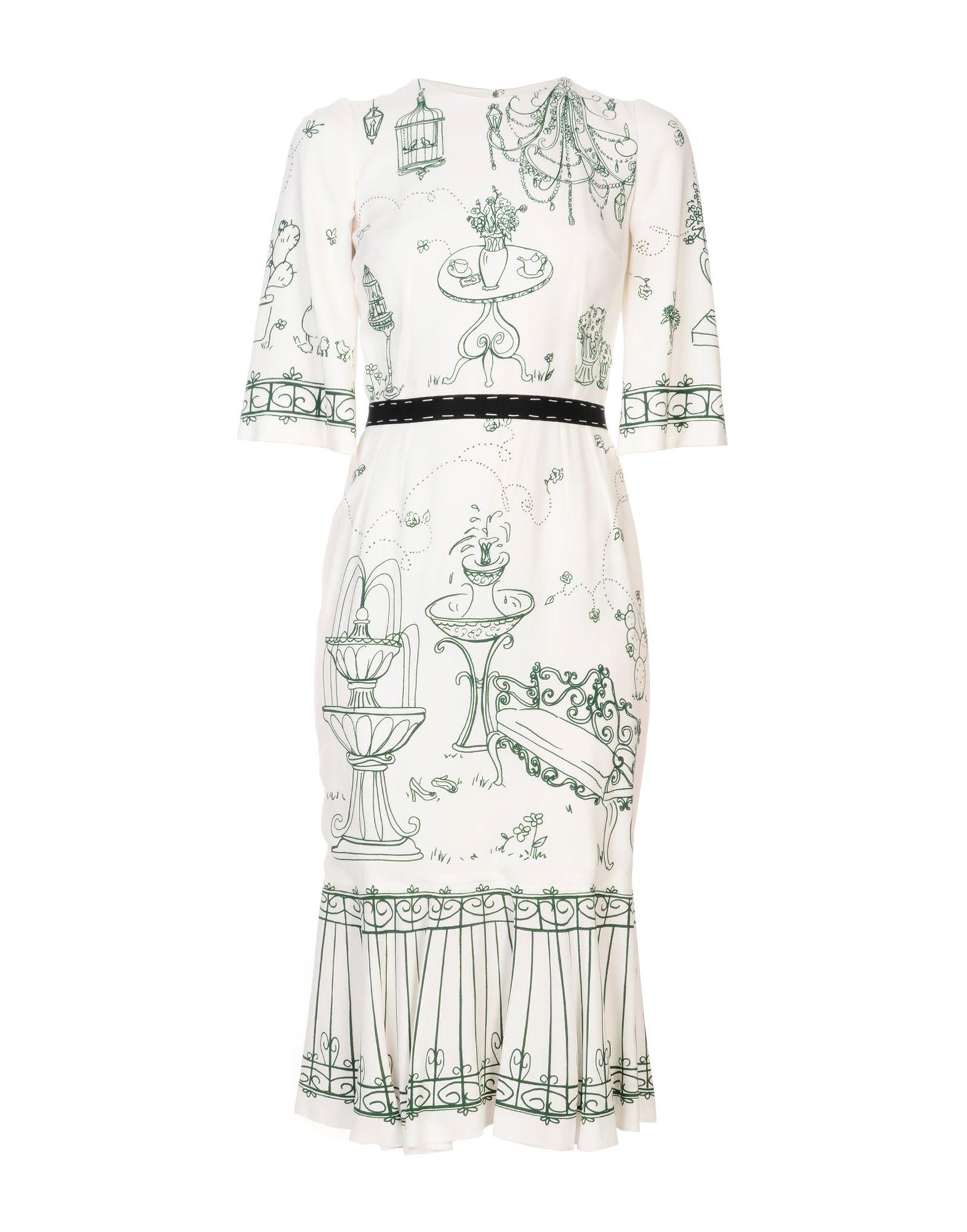 Vestito Al Ginocchio Dolce & Gabbana Donna - Acquista online su 7uFt1