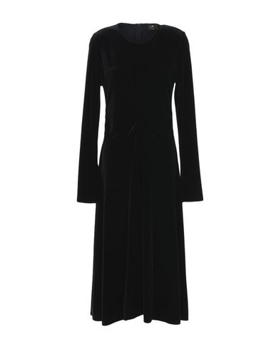 LE COL Midi Dress in Black