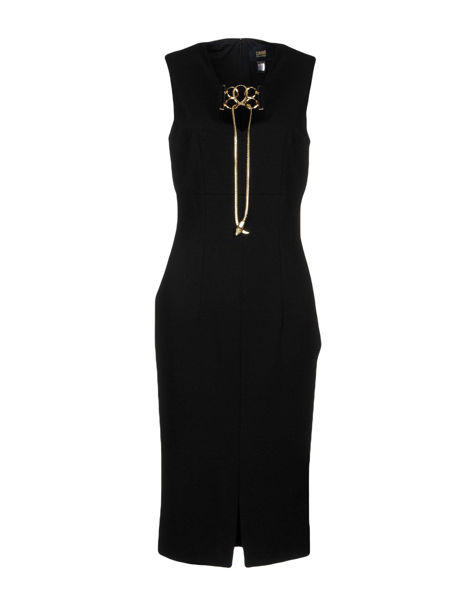 Vestito Longuette Class Roberto Cavalli Donna - Acquista online su JKR0Eb