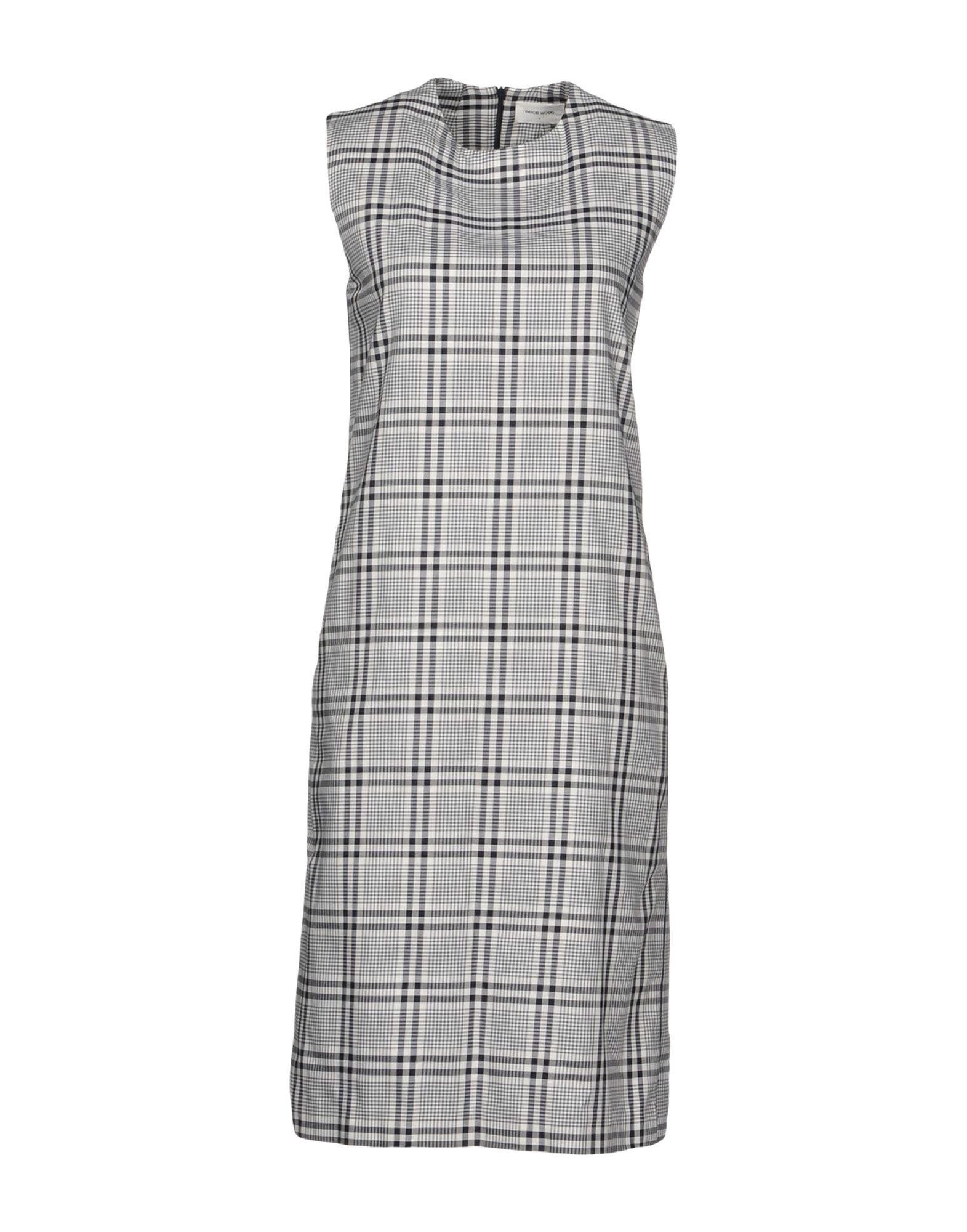 Dresses Women Length Knee Wood Dress ztInf