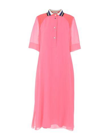 BOUCHRA JARRAR Midi-Kleid
