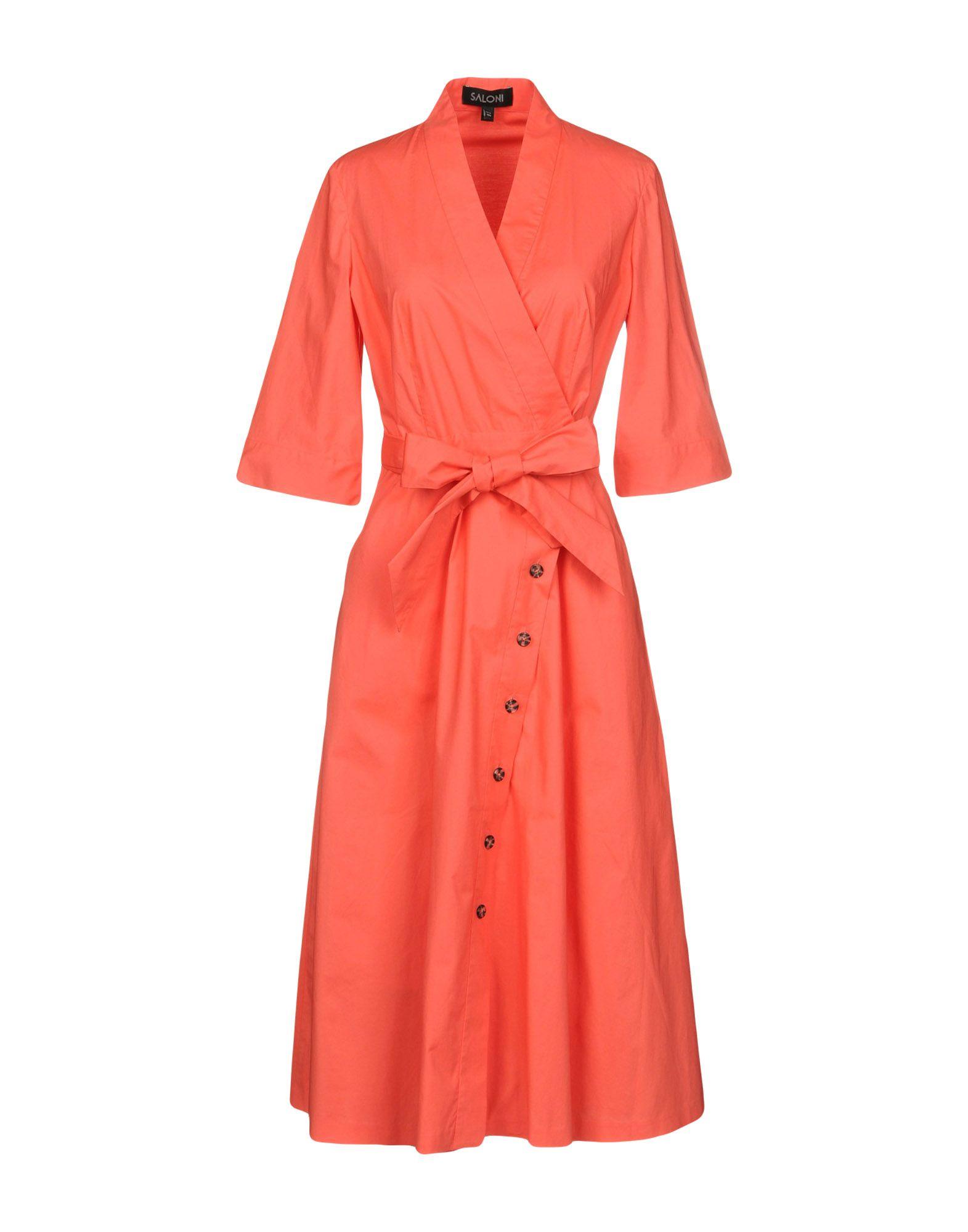 9248a9e6f34c Saloni Midi Dress - Women Saloni Midi Dress online on YOOX United States -  34856617FW