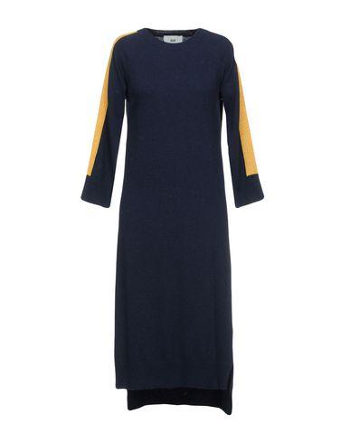 SOLOTRE Knielanges Kleid Outlet niedrige Kosten Verkauf Große Angebote Billig Das Günstigste Kaufen Atz2pX