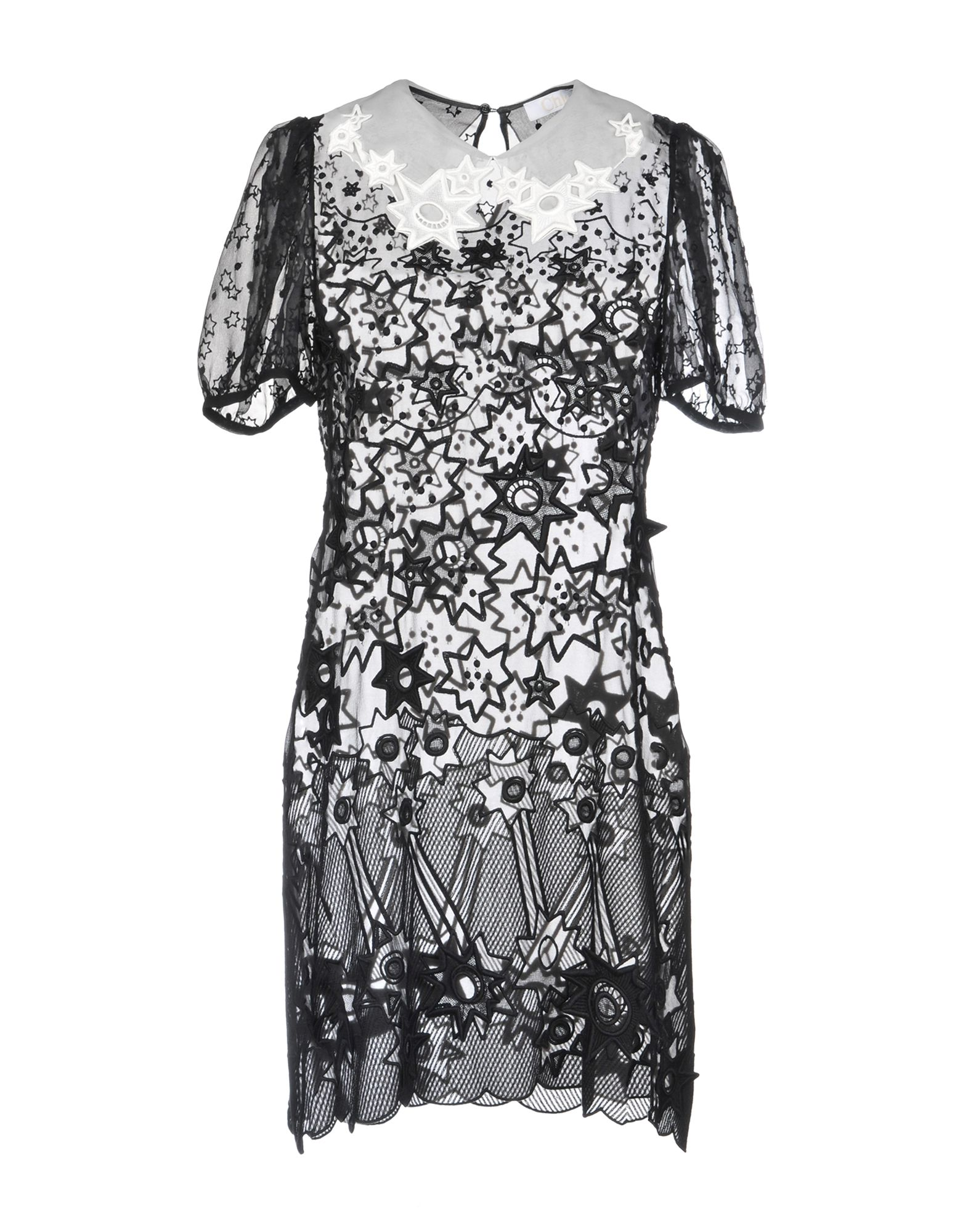 Chloé Short Dress Women Chloé Short Dresses Online On Yoox