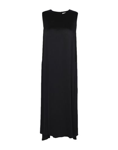 ATEA OCEANIE Midi Dress in Black