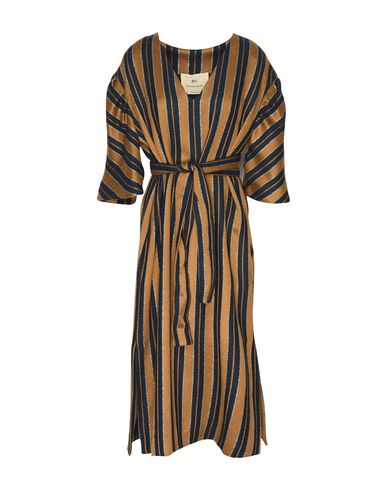 BY. BONNIE YOUNG Midi Dress in Camel