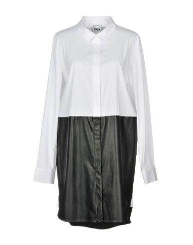My Twin Twinset Shirt Dress - Women My Twin Twinset Shirt Dresses online on YOOX United States - 34869025XR