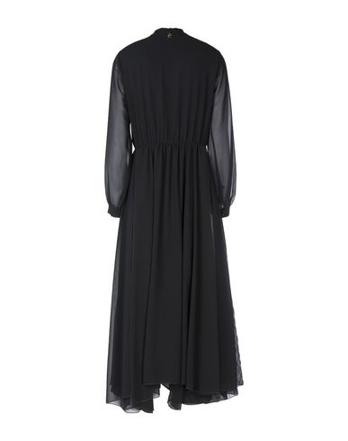 Souvenir longue Mi Robe Mi longue Souvenir Robe Noir tT7ff