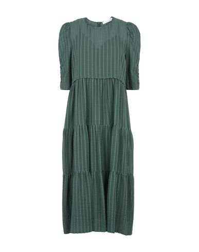 See By ChloÉ 3 4 Length Dress Dresses Yoox Com