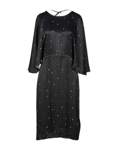 JUST FEMALE Knee-Length Dress in Black