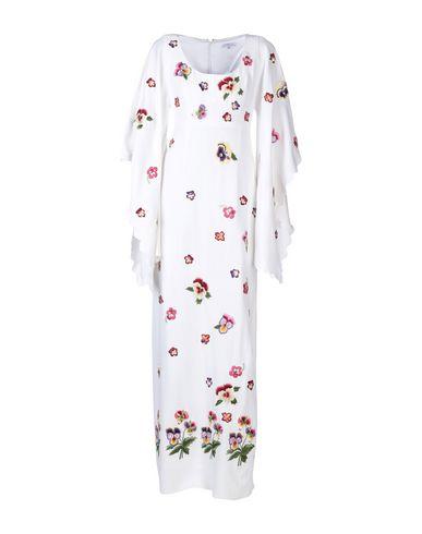 ANDREW GN Long Dress in White