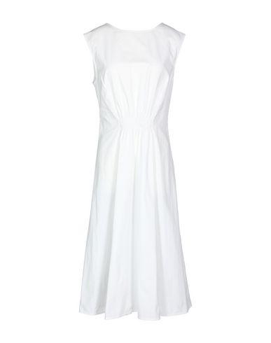 PROTAGONIST Midi Dress in White