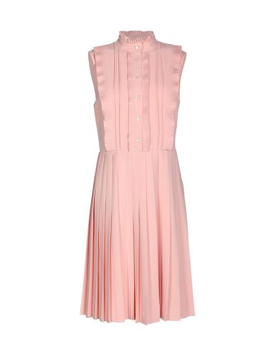 MIKAEL AGHAL Knee-Length Dresses in Pastel Pink