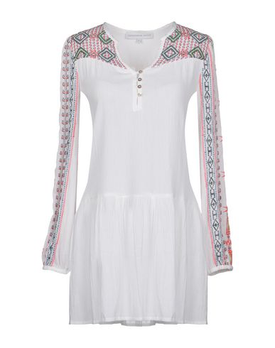 CHRISTOPHE SAUVAT COLLECTION Short Dress in White